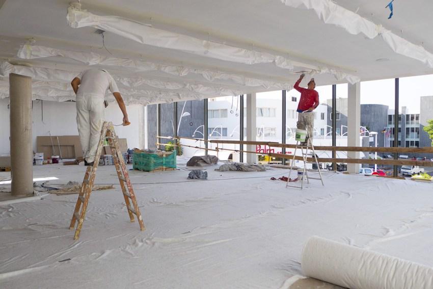 Pintura de edificios maestro pintor trabajos en altura - Trabajo de pintor en barcelona ...